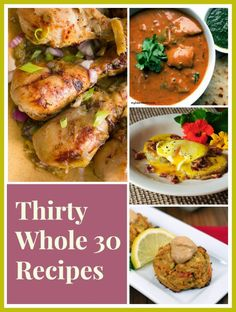 80 Awesome Whole 30 Recipes that you will love