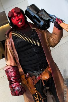 Red Hot Hellboy Cosplay - Project-Nerd