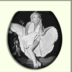 Marilyn Monroe Iconic Glacier Bay Toilet by CityDwellersBoutique, $70.95