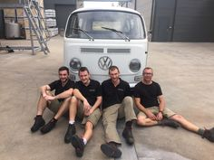 Our grapes may not be ready yet…..but our wine-making team is! Working hard on winery housekeeping are Emile, Victor and Florian.  All headed up by Murray Street Vineyards' Winemaker Craig Viney. #vintage2016 #msvwine #westernbarossa