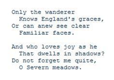 Ivor Gurney, Severn Meadows