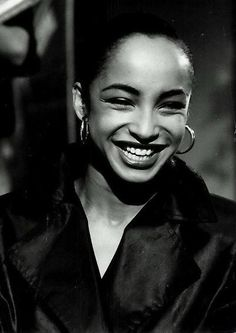 One of my main sources of happiness: Sade ❤