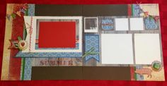 Shay & J Crafts: Scrapbook Layouts