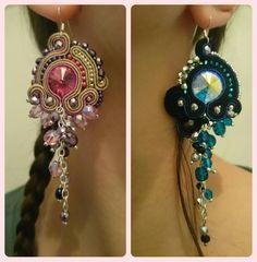 Soutache earrings cattaleya.sutasz@gmail.com, www.cattaleya.eu