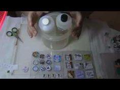 ▶ Haciendo dijes y pulseras con resina, parte 2. - YouTube