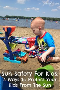 You can never be too careful when it comes to sun safety for kids. Use this as a guide for keeping your kids happy and healthy through the summer months.