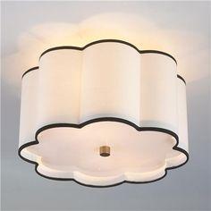 Flower Drum Shade Ceiling Light TESS's Closet/