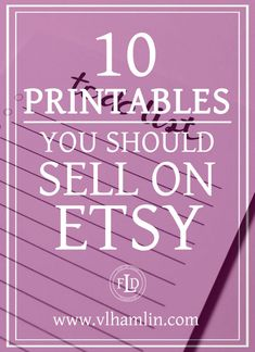 10 Printables You Should Sell on Etsy 4