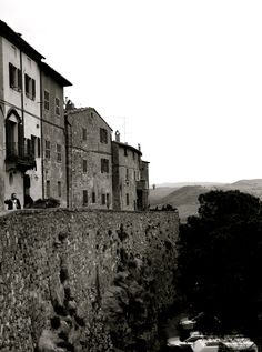 Pienza, Italy.