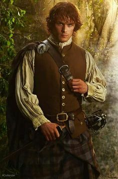 Love this pic of our Jamie @Heughan #Outlander need to stay in 1743 some 177 days to go @Outlander_Starz