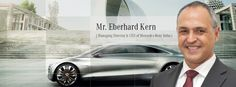 Interview with Mr. Eberhard Kern - MD & CEO, Mercedes-Benz India blog