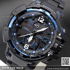 Casio G-Shock Gravity Defier Solar Wave Multiband 6 Watch GW-A1100-2A, GWA1100