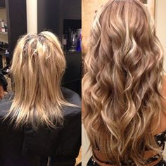 Before and After - Hair Extensions Group