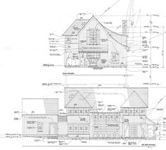 In my last two posts (or soapboxes, I suppose), I discussed the art of hand drawing in architectural sketches and development drawings. This series concludes with the topic of construction drawings… Architecture Drawings, Architecture Plan, Amazing Architecture, Architecture Details, Construction Documents, Construction Drawings, Construction Design, The Plan, How To Plan