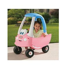 Little Tikes Princess  Cozy Coupe  30th Anniversary  The Little Tikes Princess Cozy Coupe 30th Anniversary Edition ride on toy is an American classic with little-girl flair! Toddlers love this riding toy car's design and easy maneuverability. Perfect indoors or out. Encourages active play, imagination and the development of large motor skills. Little girls will beam behind the wheel of this smiling new redesign! This cozy features colors and styling to please every little princess. A..