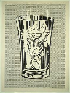 Alka Seltzer, 1966, Roy Lichtenstein
