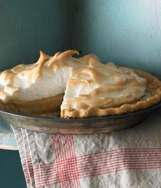 Recipe: Butterscotch pie- this would be good with just chocolate drizzled on top!