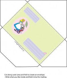 Enveloper Alice, Alice In Wonderland, Invitations - Free Printable Ideas from Family Shoppingbag.com
