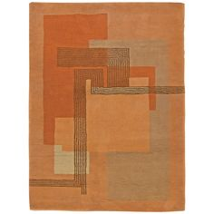 French Deco Rug | From a unique collection of antique and modern western european rugs at https://www.1stdibs.com/furniture/rugs-carpets/western-european-rugs/
