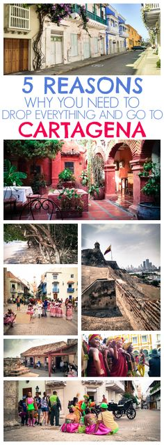 5 Reasons Why You Need to Drop Everything and Go to Cartagena: With warm Caribbean beaches a lively nightlife scene and historic Colonial charm Cartagena has something for everyone! Trip To Colombia, Colombia Travel, San Andreas, Ecuador, Machu Picchu, Panama Canal, South America Travel, Columbia South America, Future Travel