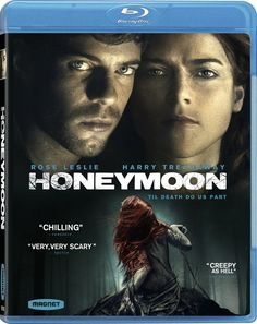 Blu-ray review of the film Honeymoon starring Rose Leslie. Available 1/13/2015