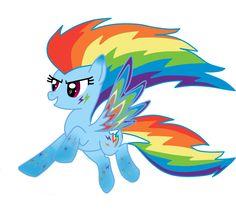 MLP: Rainbow Power by HarietGleam.deviantart.com on @deviantART