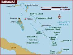 bahamas mapa politico - Buscar con Google