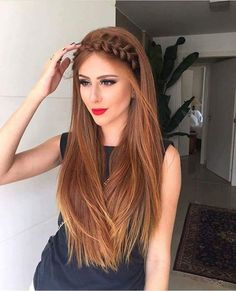 Hair Band Braided Open Hair Looks