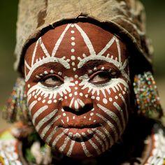 kikuyu woman - kenya