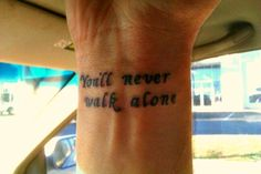 You'll never walk alone. by PhantasticPhan on DeviantArt