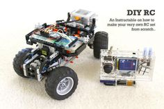 Picture of DIY Arduino Remote Control and Lego RC Vehicle!!