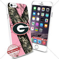 New iPhone 6 Case Georgia Bulldogs Logo NCAA #1155 White Smartphone Case Cover Collector TPU Rubber [Pink Camo] SURIYAN http://www.amazon.com/dp/B015CWGMSO/ref=cm_sw_r_pi_dp_Z7Izwb1RQ6MBG