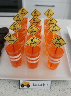 Barricade Jelly - Free printables too