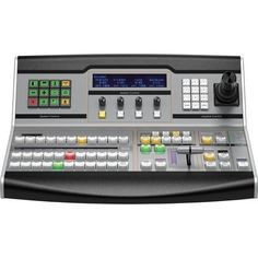 Blackmagic Design ATEM 1 M/E Broadcast Panel by Blackmagic Design. $4745.25. The Blackmagic Design ATEM 1 M/E Broadcast Panel gives you full control over the ATEM 1 M/E Production Switcher for switching cameras and for applying transitions, keyers, fader, DVE control, etc. Designed to fulfill requirements of 24/7 production environments, the 1 M/E broadcast panel features high quality buttons, knobs and controls for an easy operation with a professional outcome. Using an E...