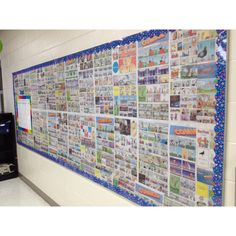 Use comics as bulletin board backing
