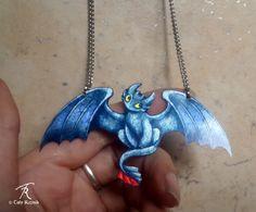 Toothless Dragon Night Fury Black HTTYD by TrolladrielCreations