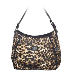 Grace Adele Lily bag in leopard. $80.00 Any Grace Adele clutch fits in exterior pocket. Great combo!