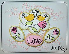 Too Soon for Valentine's Cookies? Bird Cookies, Heart Cookies, Cute Cookies, Cupcake Cookies, Sugar Cookies, Butterfly Cookies, Cupcakes, Royal Icing Cookies, Cookie Icing