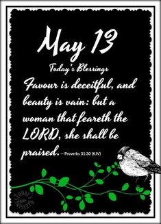 Proverbs 31 30, Deceit, Blessed, Lord, Day, Beauty, Beauty Illustration