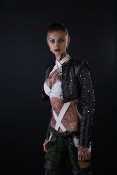 "Anna ""Ormeli"" Moleva cosplays as Jack from Mass Effect"