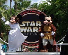 Mickey and Minnie Star Wars