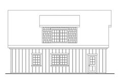 Craftsman Plan: 838 Square Feet, 1 Bathroom - 035-00857 Garage Building Plans, Building A Shed Roof, Garage Plans With Loft, Small Cottage House Plans, Barn House Plans, Tiny House Plans, Garage Apartment Plans, Garage Apartments, Garage Design