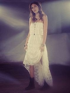 Candela Florencia Pleated Lace at Free People Clothing Boutique