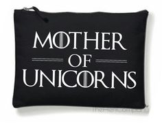 Game Of Thrones Make-Up Bag GOT Bag Mother Of by TheHenCompany