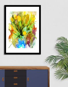 Discover «Bold Yellow Tulips», Limited Edition Fine Art Print by Chet  Dembeck - From $29 - Curioos