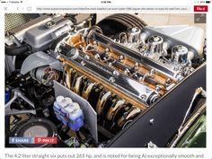 1966 Jaguar E Type FHC - 4.2 litre engine bay
