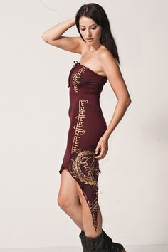 Wrap Dress by Infiniti Now                                   #artisanmade #giftsforher http://festivalfirefashion.com/collections/dresses-skirts