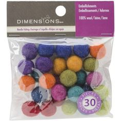 wool balls for diffuser necklaces