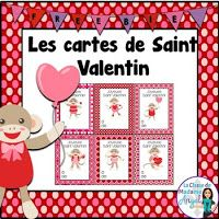 # s Day friends Jour de Saint Valentin - Valentines Day Cards in French Valentine's Day is considered one among my most loved instances Cute Valentines Day Cards, Valentines Day Activities, Fun Activities, Romantic Themes, Valentine's Cards For Kids, Ecole Art, Homemade Valentines, French Lessons, Teaching French