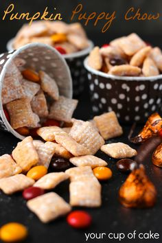 Pumpkin Puppy Chow Recipe